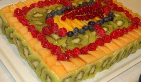 torta soffice alla frutta